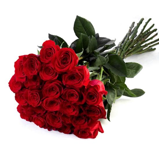 доставка цветов в анталии Букет из 25 красных роз