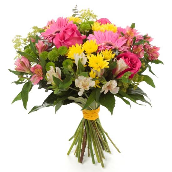 доставка цветов в анталии Букет из сезонных цветов